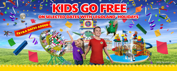 Kids Go FREE on selected dates - Extra Dates Added!