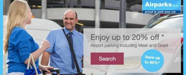 Pre-book & save up to 60% + Up to 20% off Airport Parking