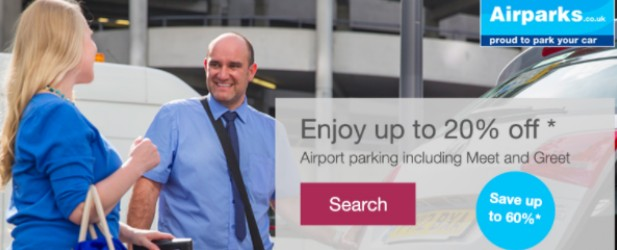 Pre-book & save up to 50% + up to 20% off Airport Parking.