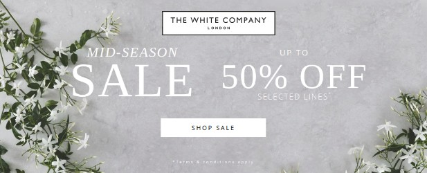 Mid-Season Sale - up to 50% off selected lines